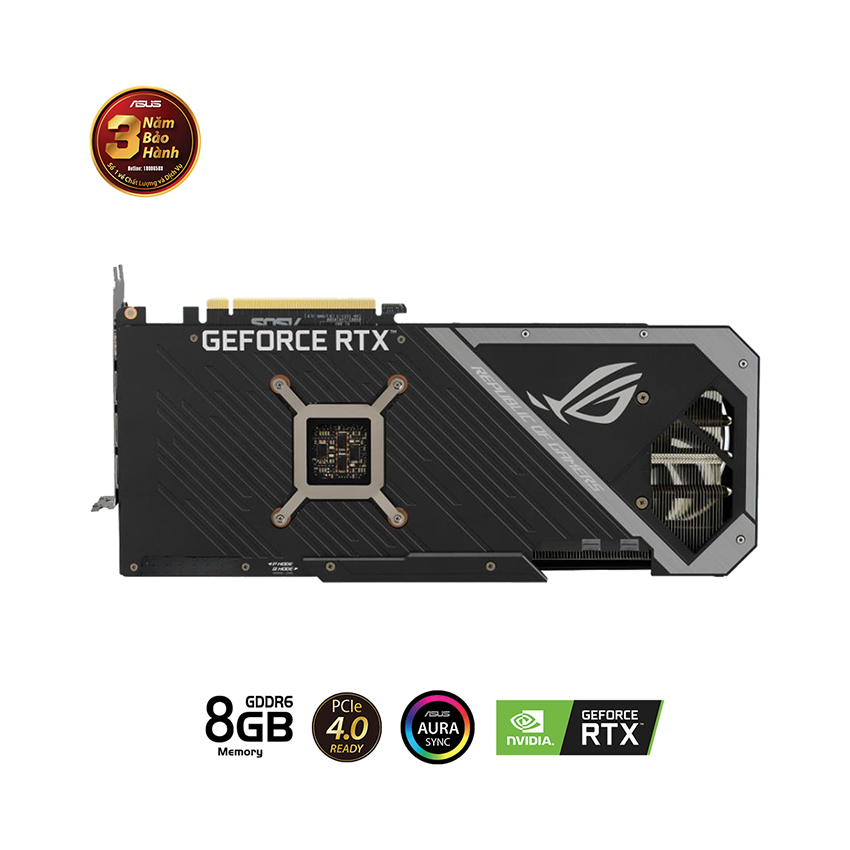 VGA Asus ROG STRIX RTX3070-O8G-GAMING (8GB GDD6, 256-bit, HDMI +DP, 2x8-pin) 4